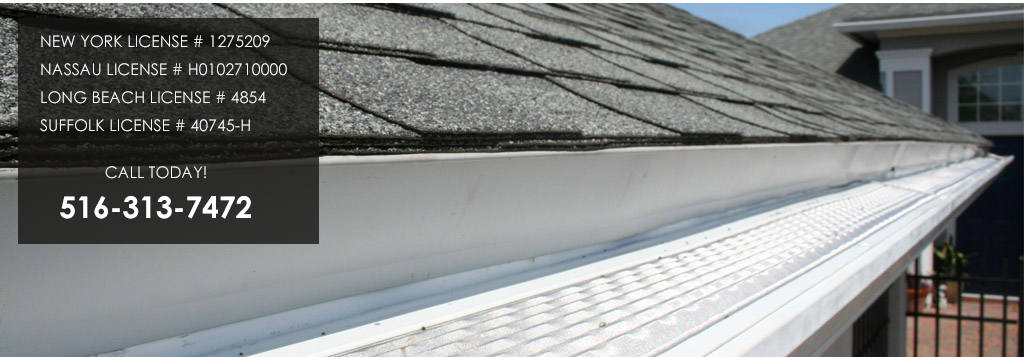Gutter Guards on a home